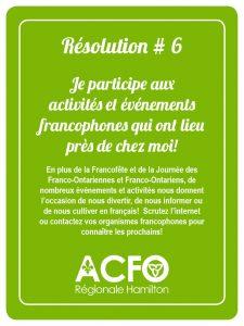 Résolution 6